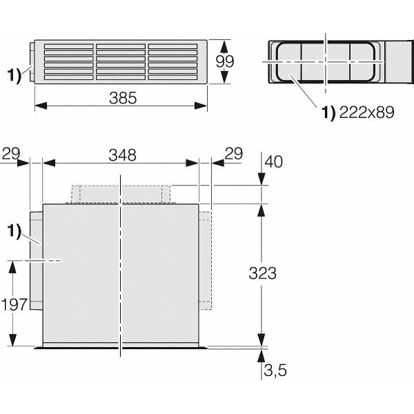 Miele Dampkapaccessoires DUU 1000-2