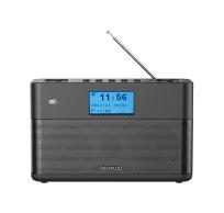 Compacte Stereo Radio met DAB+ en Bluetooth Audio