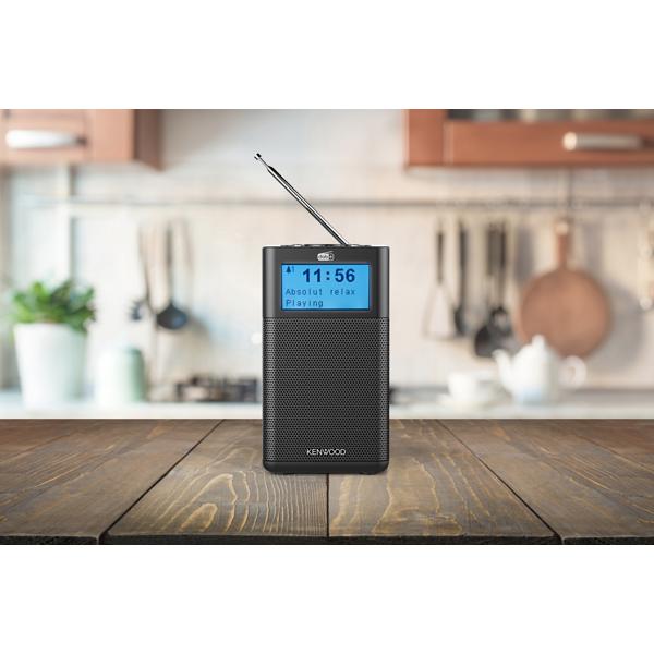 Kenwood Radio Compacte radio met DAB+ en Bluetooth Audio Streaming
