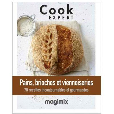 Livre PAINS, BRIOCHES ET VIENNOISERIES Magimix