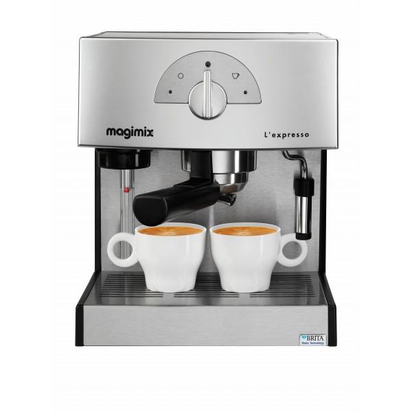 Magimix Espressomachine L'Expresso Mat Chroom