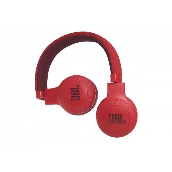 E45BT on-ear draadloze HPH BT rood JBL