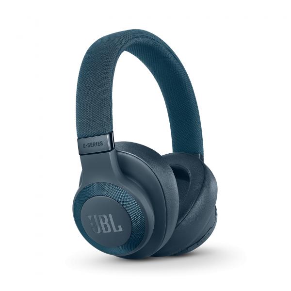 E65BTNC around-ear BT HPH active noise cancellation blauw JBL