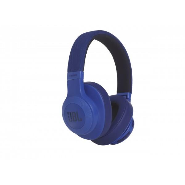 E55BT around-ear BT HPH blauw JBL