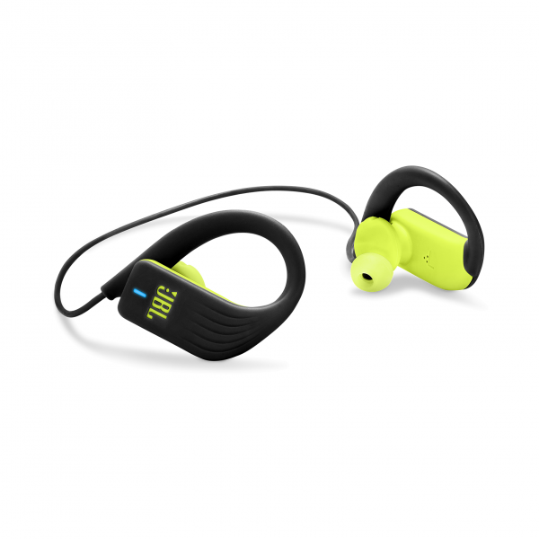 Endurance Sprint Zwart/Lime Groen JBL