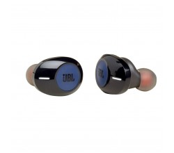 T120TWS lifestyle in-ear canal HPH BT blauw JBL