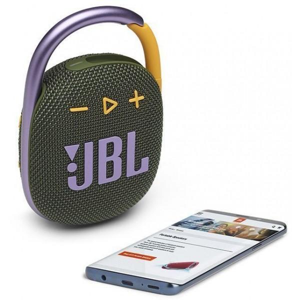 CLIP 4 bluetooth speaker groen/roze JBL