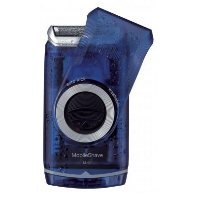 MobileShave M-60b Blue Braun