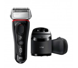 Series 8 8380cc Black/Red Braun
