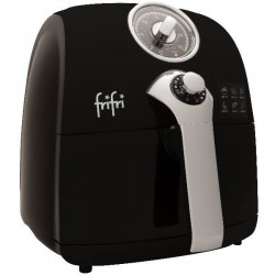 La Retro - warmelucht friteuse zwart        Frifri