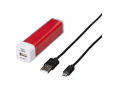 Power pack 2600 mAh rood