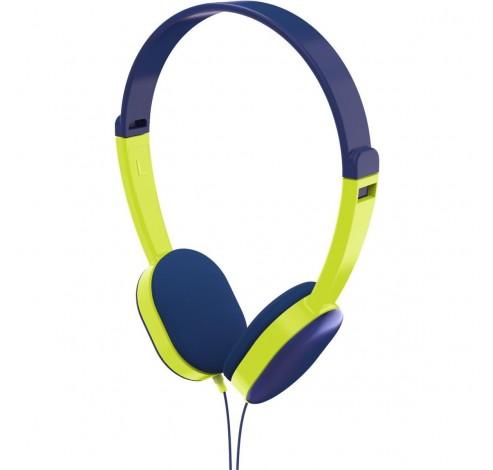 Hoofdtelefoon kids blauw-groen  Hama