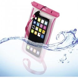 Outdoortas Playa voor smartphones. maat XXL. pink  Hama