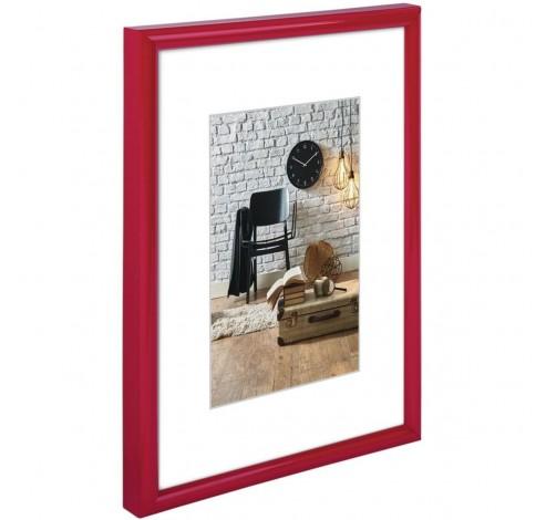 Fotolijst kunststof Sevilla rood 18x24cm  Hama