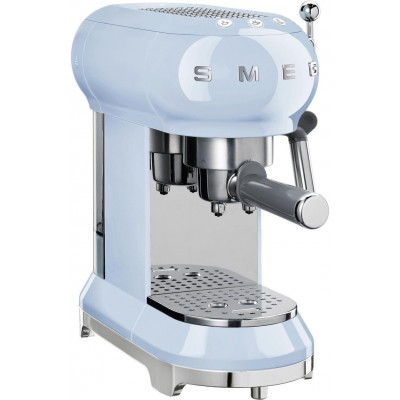 Espressomachine pastelblauw Smeg