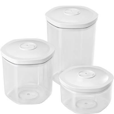 Set de 3 boîtes sous vide pour les tiroirs sous vide Smeg