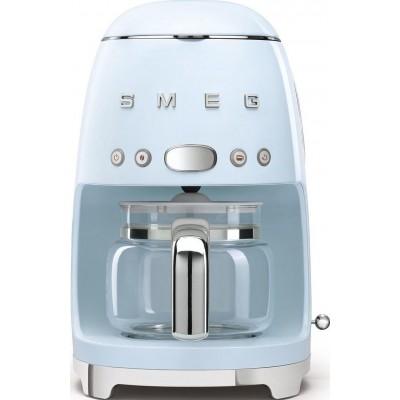 Koffiezetapparaat pastelblauw Smeg