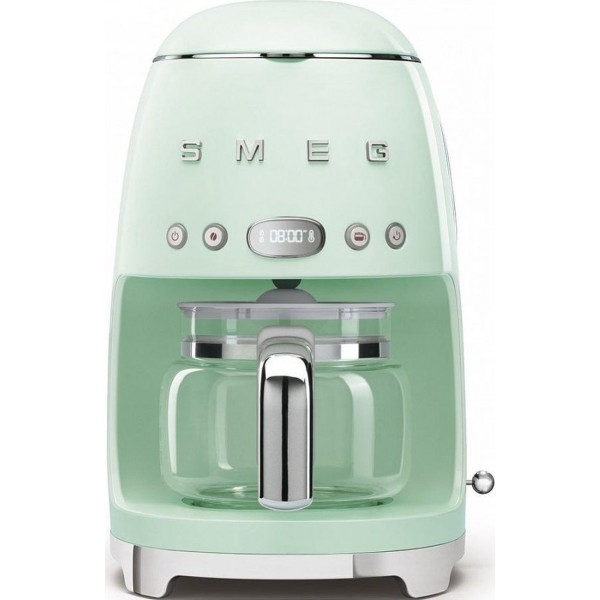 Smeg Koffiemachine Koffiezetapparaat pastelgroen
