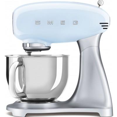 SMF02PBEU pastelblauw met zilver Smeg