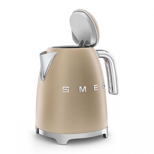 Smeg Waterkoker KLF03CHMEU 1,7 liter - Mat champagne