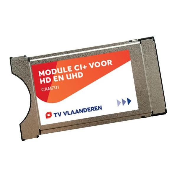 TV VLAANDEREN Smart Card (TV of radio) CI+ module CAM-701 met smartcard