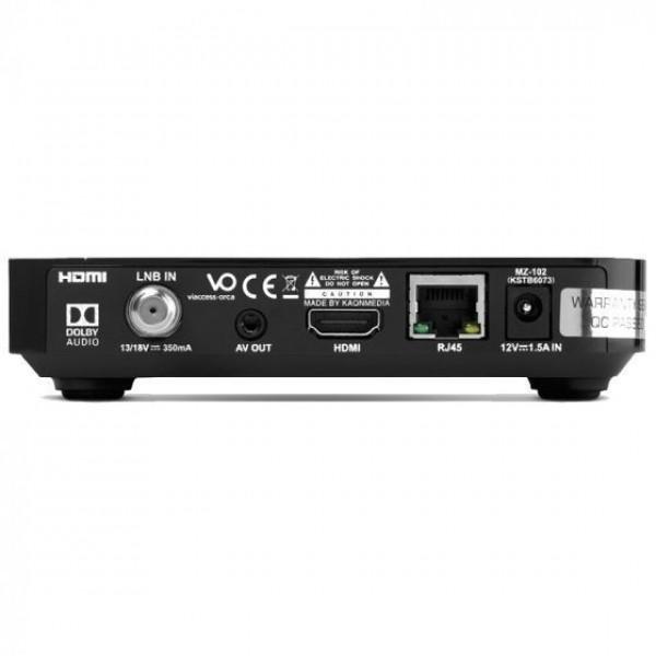 TV VLAANDEREN Satelliet-televisie Interactieve HD Ontvanger MZ 102 + SmartCard
