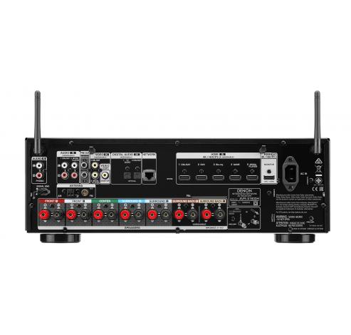 AVR-X1600H DAB Zwart  Denon