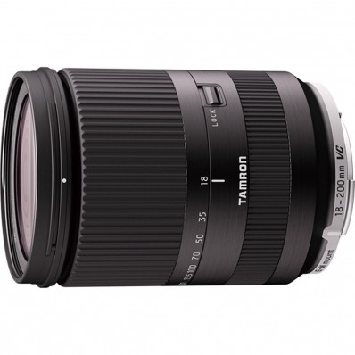 AF 18-200/F3.5-6.3 Di III VC zwart Canon EOS-M