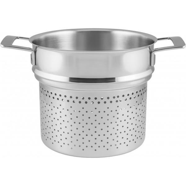 Silver Pasta-inzetØ 24 Demeyere
