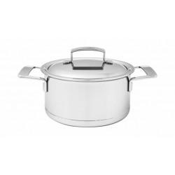 Silver Kookpot Ø 22cm 4l Demeyere