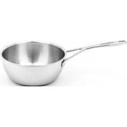 Silver 7 Conische SauteuseØ 18cm 1,5l Demeyere