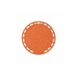 Onderzetter 20cm Oranjerood