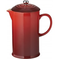 Koffiepot met pers 0,8L Kersenrood