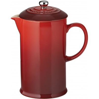 Koffiepot met pers 0,8L Kersenrood Le Creuset
