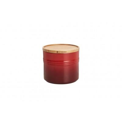 Large Voorraadpot Kersenrood 12cm 1,5L Le Creuset