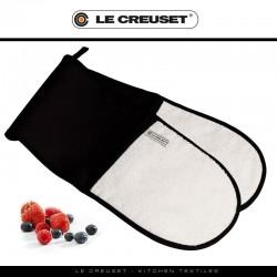 Dubbele ovenwant Zwart  Le Creuset