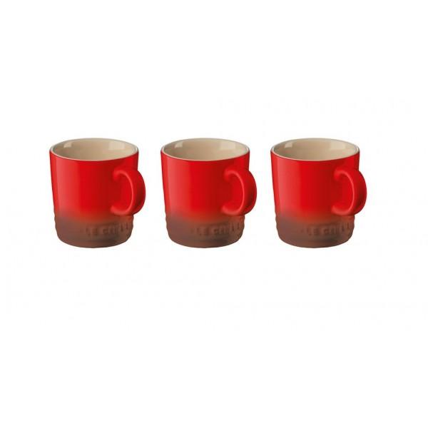 Le Creuset 3 Koffiekoppen 35cl 91026900060010