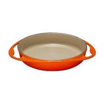 Gietijzeren tatin-taartvorm in Oranjerood 28cm 2,6l Le Creuset