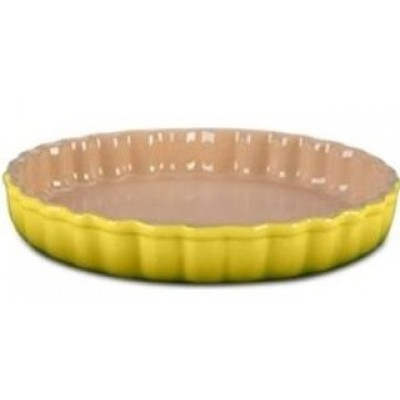 Aardewerken taartvorm Soleil 28cm Le Creuset