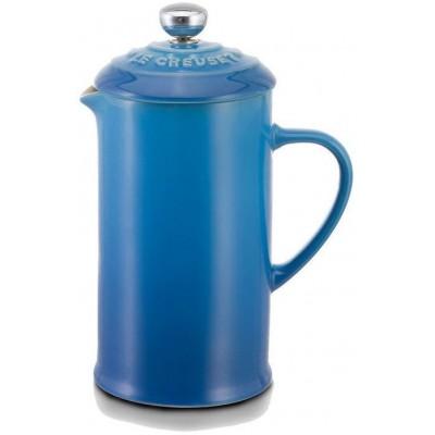 Koffiepot met pers 0,8l Marseilleblauw  Le Creuset