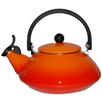 Zen Fluitketel 1,5L Oranjerood  Le Creuset