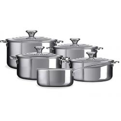 RVS 5-delige kookpannenset