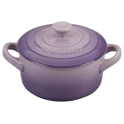 Mini braadpan 10cm Pearlized Light Bluebell Purple  Le Creuset