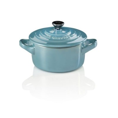 Mini braadpan 10cm Pearlized Light Caribbean  Le Creuset