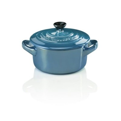 Mini braadpan 10cm Pearlized Light Deep Teal  Le Creuset