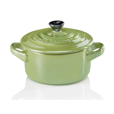 Mini braadpan 10cm Pearlized Light Palm Le Creuset