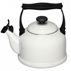 Tradition Fluitketel 2,10L Mist Grey  Le Creuset