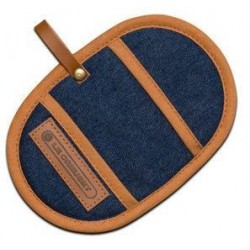 Set van 2 pannenlappen Denim