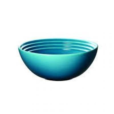 Ontbijtkom 16cm Caribbean Blue  Le Creuset