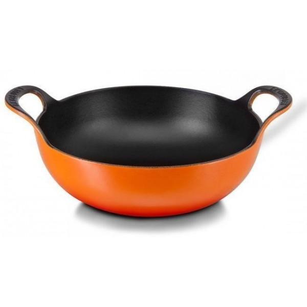 Balti-pan 24 cm Oranjerood